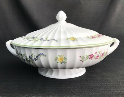 Royal Worcester 'Fleuri' - Tureen & Cover - Excellent