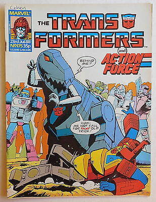 TRANSFORMERS COMIC #175 - 23rd July 1988 - Marvel UK, Action Force