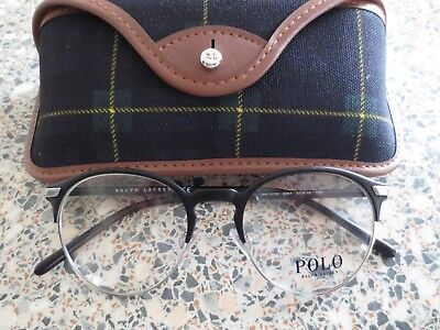 Ralph Lauren Polo black glasses frames. PH 1170. With case.