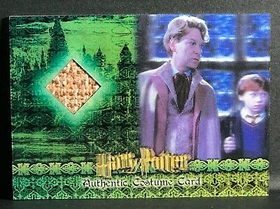 Harry Potter 3D COS Costume Card Gilderoy Lockhart C3 #92 Chamber Artbox