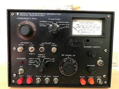 Sound Technology 1000A FM Alignment Generator