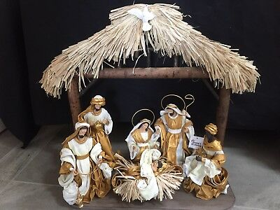 Christmas In July /Holy Family figurine  51 Cm  Nativity Set I Scene Christmas