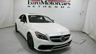 2015 Mercedes-Benz CLS-Class 4dr Sedan CLS 63 AMG S-Model 4MATIC mercedes benz amg cls 63 cls63 white leather sport navigation carbon fiber 4dr