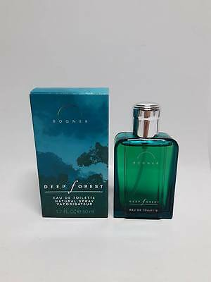 Bogner Deep Forest EDT 50 ml Spray Vintage New & Rare