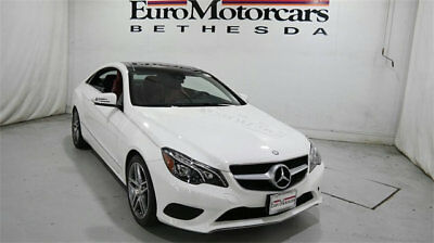 2014 Mercedes-Benz E-Class 2dr Coupe E 350 4MATIC mercedes benz e350 coupe 4matic 2dr awd 14 15 certified 350 sport keyless camera