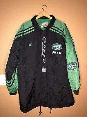 Vintage Authentic New York Jets NFL Proline Jacket by Starter XL