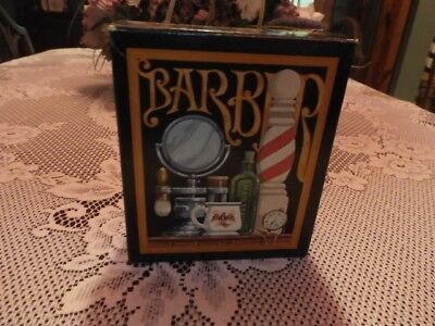 Vntge Avon Barber Shop Duet Mustache Comb and Wild Country Soap