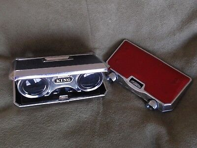 Vintage 2 Opera Binocular Glasses King & Jason
