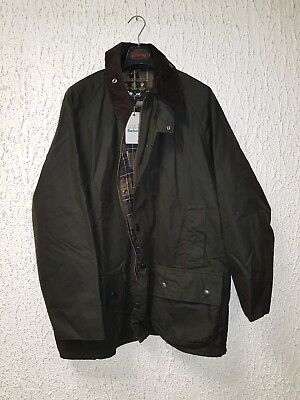 NEW WITH TAG BARBOUR MOORLAND WAXED JACKET SZ 48 ! (like BEAUFORT/BEDALE) 506 $