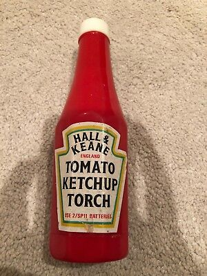 Hall and Keane Heinz Tomato Ketchup Novely Torch