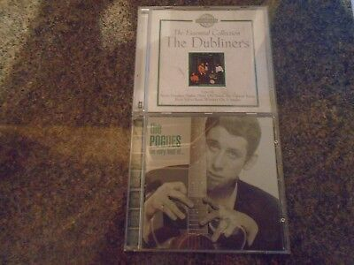 The Pogues Very Best of CD. The Dubliners Essential Collection CD