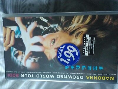madonna-drowned world tour 2001-vhs sealed