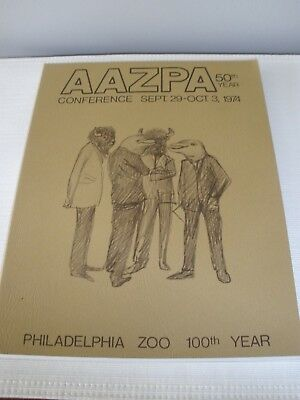 American Association of Zoological Parks and Aquariums 50th Year Annual 1974