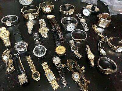 Huge 20 Piece Vintage to Now Watch lot ALL WORKING! ALL WEARABLE!