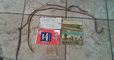 Various WW2 Paper Items