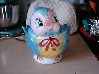 Vintage Geo. Lefton #289 Bluebird Cookie Jar