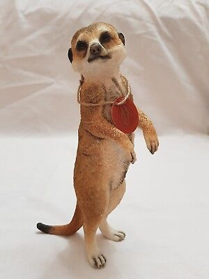 Country Artists The Natural World- Meerkat Baby Standing Figurine