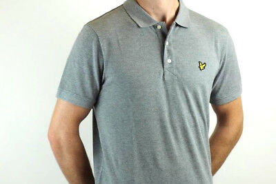 Lyle & Scott - Polo Shirt - mid Grey Marl - SP400VB