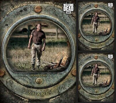 3X Shane Walsh-Cost Of Life-Gray-Wave 3-Topps Walking Dead Card Trader
