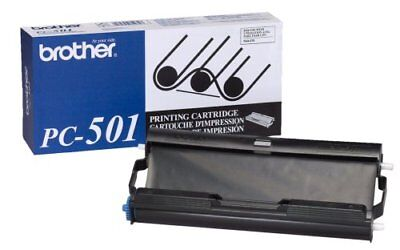NEW Brother PC-501 Black Thermal Cartridge