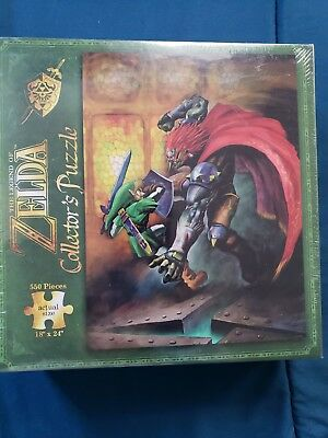 The Legend of Zelda: Link and Ganon Collector's Puzzle 550 Pieces USAopoly