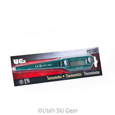 SVST Digital Thermometer for Ski Waxing | Snow Thermometer for Ski Racing & AT