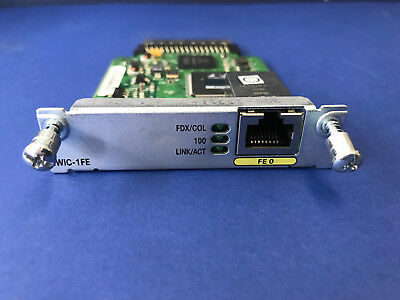 CISCO HWIC-1FE High Speed WAN Interface Card