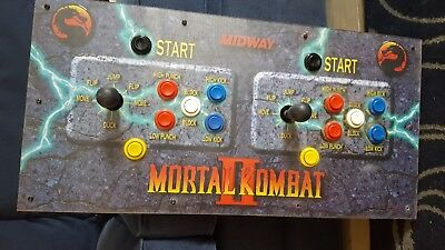 mortal combat board poly board and controllers for the arcade machine