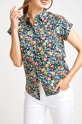 New Sportscraft Pavillion Print Liberty Shirt
