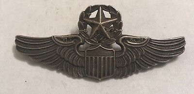 WW2 STERLING COMMAND PILOT N.S. MEYER PILOT ARMY AIR FORCE WING 3in
