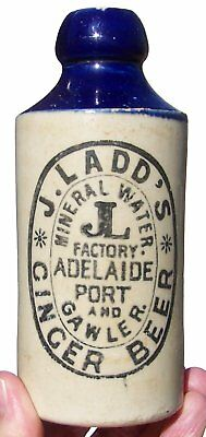 SA Blue Top J Ladd's Ginger Beer 3 Towns
