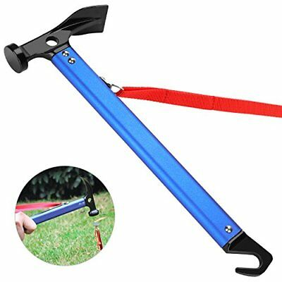 TAGVO Camping Hammer, Multifunction Outdoor Camping Mallet Aluminum Tent ...