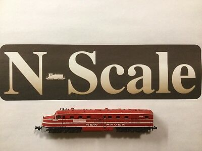 """Con-Cor Un-Powered Dl-109 New Haven """"The Cranberry"""" Engine Locomotive N Scale"""