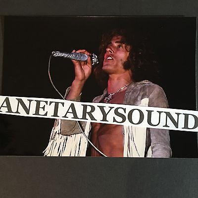 THE WHO WOODSTOCK 1969 COLOR PHOTO #4~ALLAN KOSS ORIGINAL >NEGATIVE 5 x 7~SIGNED