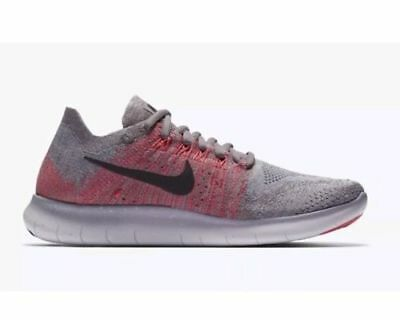 Details about Wmns Nike Free RN Flyknit 2017 Dark Stucco Grey Women Running Shoes 880844 008