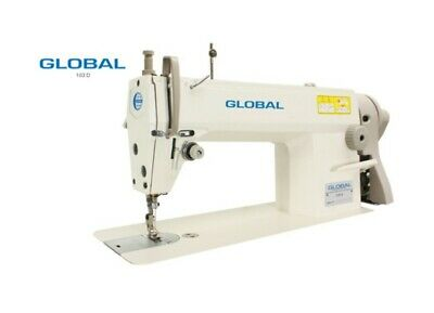 NEW GLOBAL Full Industrial Table Top Sewing machine, For LEATHER, CANVAS, VINYL.