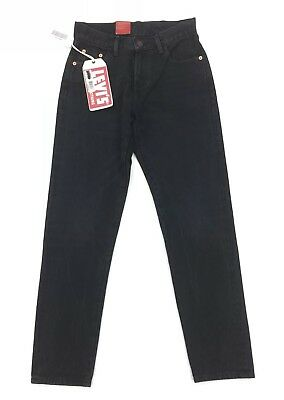 NEW Levi's Vintage Clothing LVC 505 1967 Customized Womens Size 25 Black Jeans