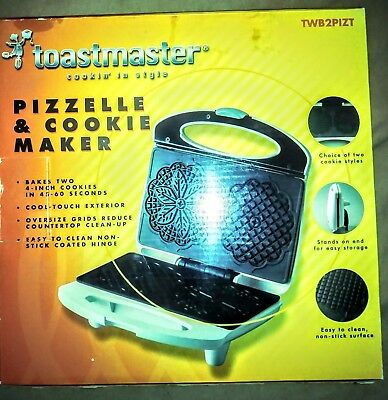 Toastmaster Pizzelle and Cookie Maker Brand New and Never Used
