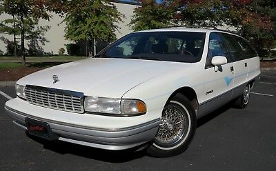 1991 Chevrolet Caprice Classic Wagon 1991 Chevrolet Caprice Wagon - LOW, LOW MILES, ALL- ORIGINAL, DRIVE ANYWHERE !!