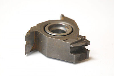 """Rockwell 43-933 Drawer Joint Carbide Shaper Cutter 3/4"""" Hole 1/2"""" Bushing"""