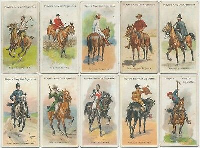 PLAYER, John - 1905 : Riders Of The World Complete Set (50) Cigarette Cards