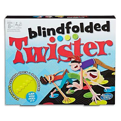 Twister Blindfold - Family Board Games Toys - Kids Adult Party Game - Ages 8+