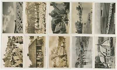 PATTREIOUEX - 1938 : Our Countryside [Photos] Complete Set (48) Large Cig. Cards