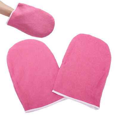 SPA Cotton Soft Mittens Heat Preservation Paraffin Wax Protection Hand Gloves AT