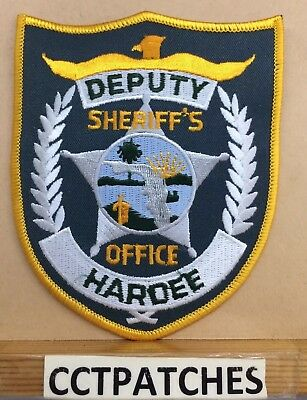 Hardee County, Florida Sheriff Office (Police) Shoulder Patch Fl