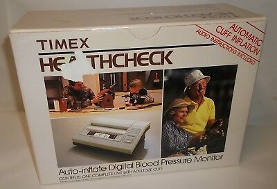 Timex HealthCheck BP-2 Auto-Inflation Digital LCD Blood Pressure Monitor 060006