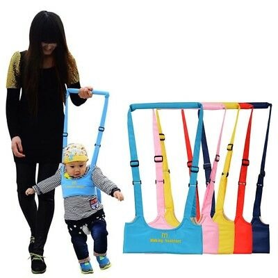 4 Color Kid Baby Walker Safety Supports Harness Toddler Walking Learning Belt US