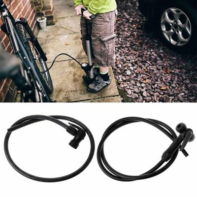 Bicycle Inflator Valve Air Pump Extension Tube Pipe Repair Tools For US/French