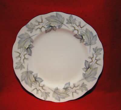 ROYAL ALBERT *SILVER MAPLE* DINNER PLATE(S) GOLD TRIM ENGLAND buy 1 or more