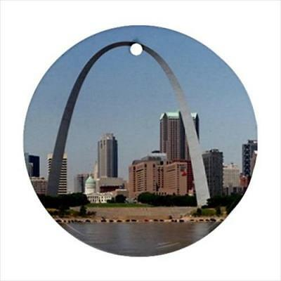 St. Louis Missouri Gateway Arch Christmas Ornament Souvenir Great Gift!